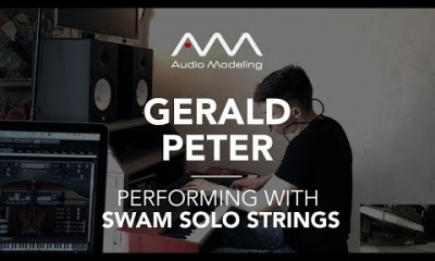 Air on G String (Bach) performed by Gerald Peter with SWAM Solo Strings