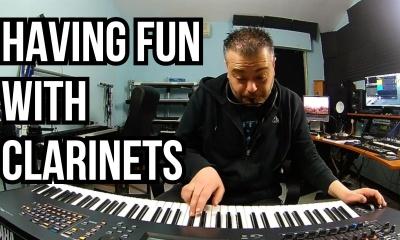 Manuele Montesanti plays virtual Clarinets