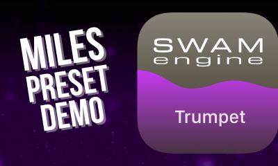 SWAM Trumpet for iPad - Miles Preset demo