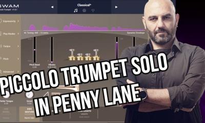Basile plays Penny Lane's Piccolo Trumpet Solo on iPad