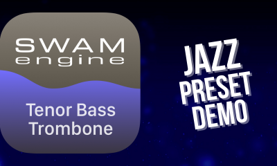 SWAM Tenor Bass Trombone for iPad - Jazz Preset demo
