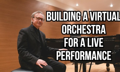 Nikolai Kapustin Piano Concerto n.2 op.14 with a Virtual Orchestra (Vito Reibaldi Piano)
