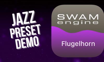 SWAM Flugelhorn for iPad - Jazz  Preset demo