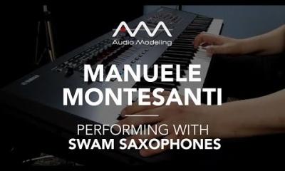Manuele Montesanti performing with SWAM Soprano Sax