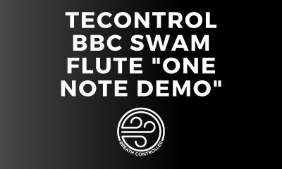 "TEControl BBC - SWAM Flute ""One Note Demo"""