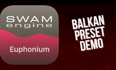 SWAM Euphonium for iPad - Balkan Preset demo