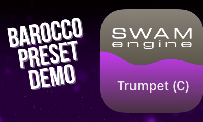 SWAM Trumpet C for iPad - Barocco Preset demo