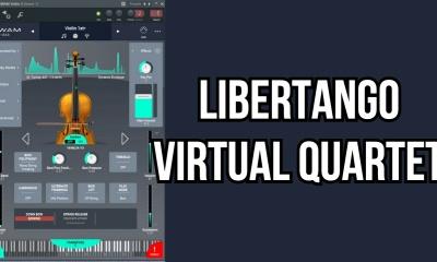 Piazzolla's Libertango with SWAM Virtual Solo Strings Quartet