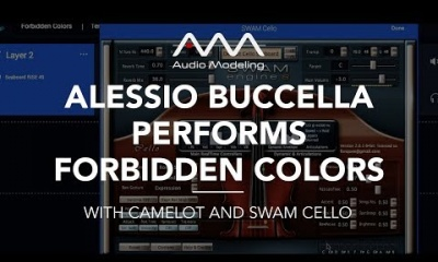 Forbidden Colors (Ryuichi Sakamoto) performed by Alessio Buccella with Camelot and SWAM Cello