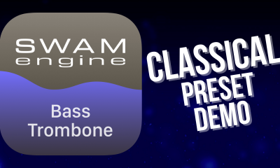 SWAM Bass Trombone for iPad - Classical Preset demo