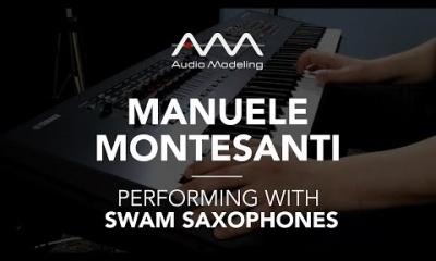Manuele Montesanti performing with SWAM Saxophones (Baritone Sax)