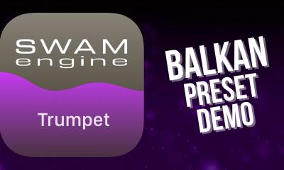 SWAM Trumpet for iPad - Balkan Preset demo