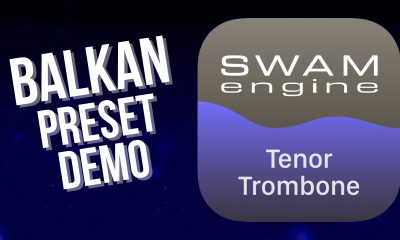 SWAM Tenor Trombone for iPad - Balkan Preset demo