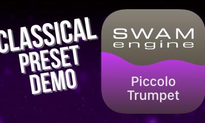 SWAM Piccolo Trumpet for iPad - Classical Preset demo