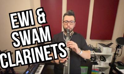 Alex Inglese plays SWAM Clarinets with EWI