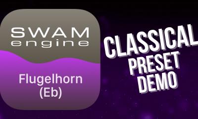 SWAM Flugelhorn Eb for iPad - Classical Preset demo