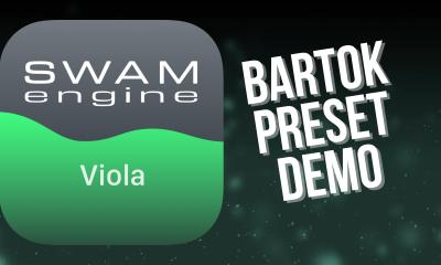 SWAM Viola for iPad - Bartok Preset demo