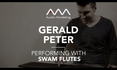 Gerald Peter performing with SWAM Flute