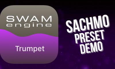 SWAM Trumpet for iPad - Sachmo Preset demo