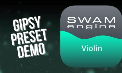 SWAM Violin for iPad - Gipsy Preset demo