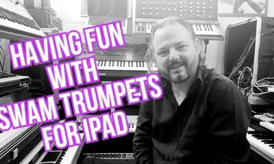 Roger Gentile plays SWAM Trumpet on iPad