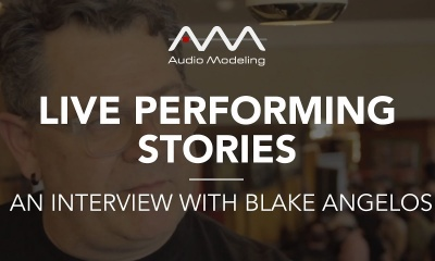 Live performing stories: an interview with Blake Angelos