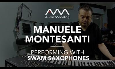 Manuele Montesanti performing with SWAM Tenor Sax