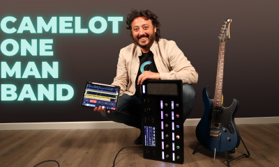 Camelot, iPad and Line 6 Helix: the Swiss Army Knife for One Man Band Player
