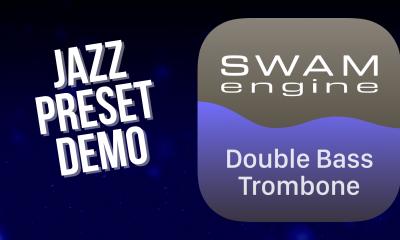 SWAM Double Bass Trombone for iPad - Jazz Preset demo