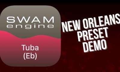 SWAM Tuba Eb for iPad - New Orleans demo